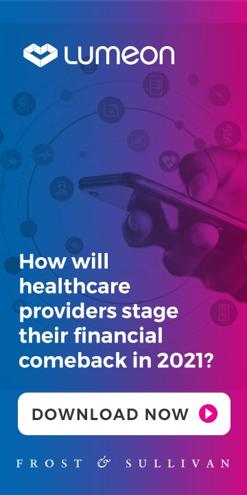 An image linking to the Frost & Sullivan 2021 Guide to Care Journey Orchestration report